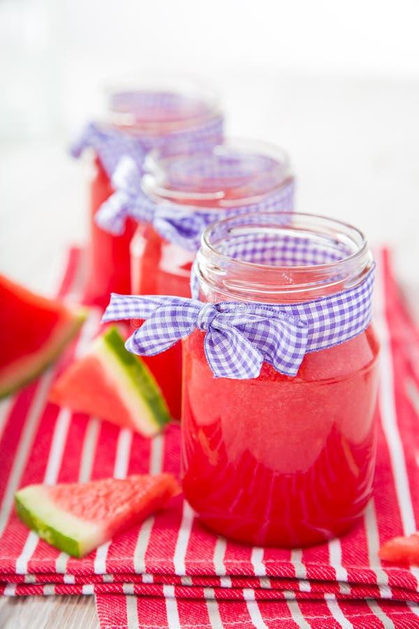 Ποτήρια του φρέσκου, σπιτικού φρέσκου χυμού στοκ φωτογραφία με δικαίωμα ελεύθερης χρήσης