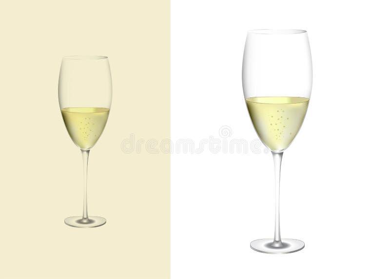 Ποτήρι της σαμπάνιας στοκ φωτογραφία με δικαίωμα ελεύθερης χρήσης