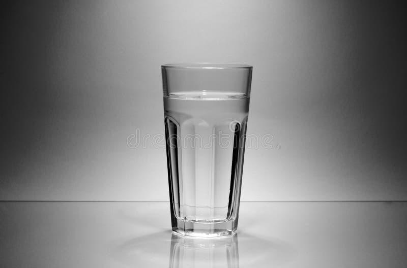 Ποτήρι του νερού στοκ εικόνα