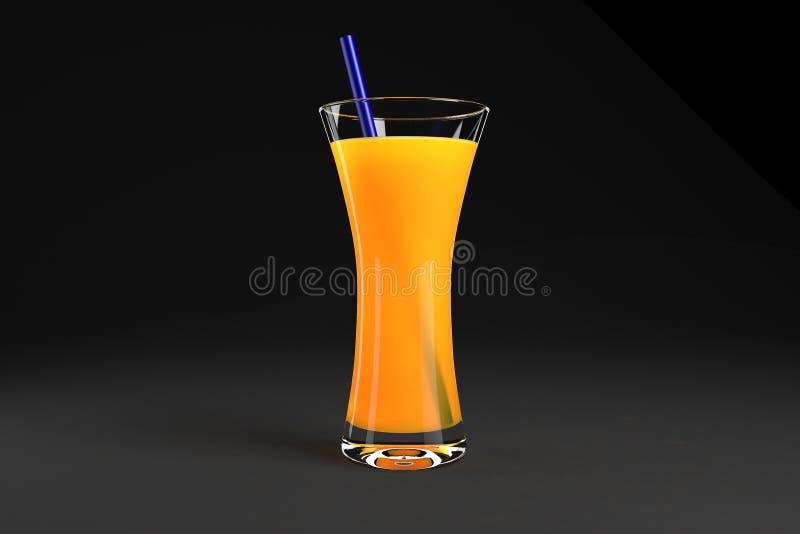 Ποτήρι του χυμού στοκ εικόνα με δικαίωμα ελεύθερης χρήσης