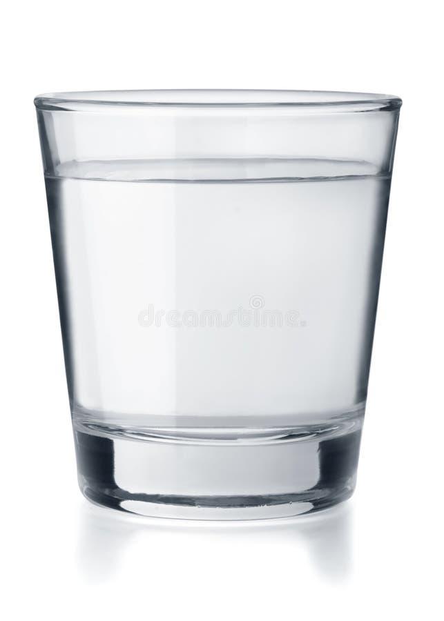 Ποτήρι του ύδατος στοκ εικόνα με δικαίωμα ελεύθερης χρήσης