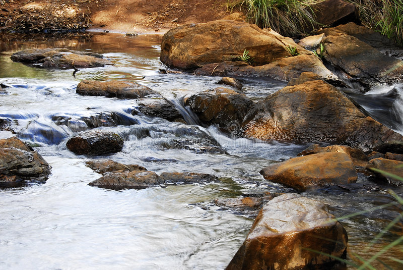 ποταμοί μικροί στοκ φωτογραφία