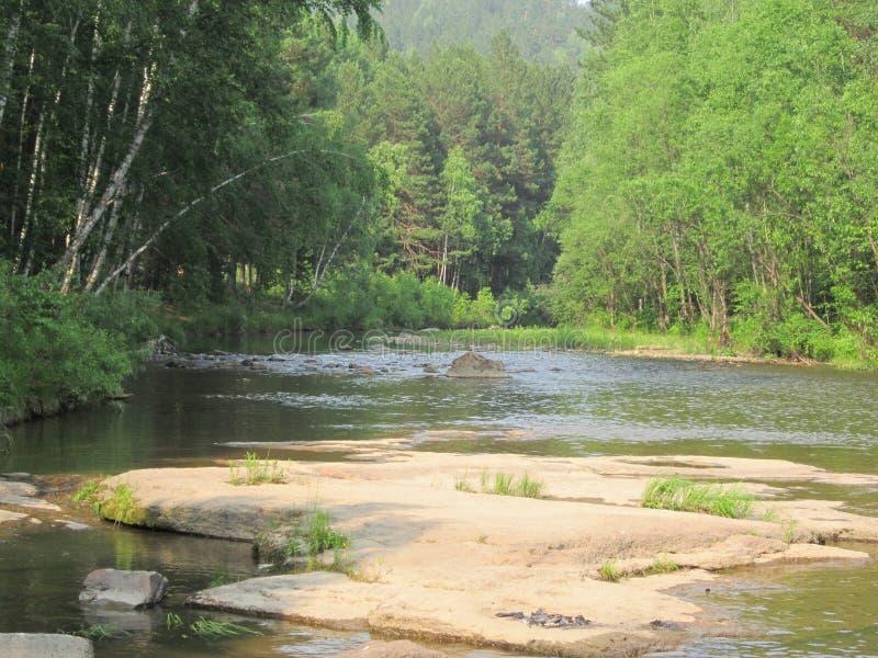 Ποταμοί της Σιβηρίας στοκ φωτογραφίες με δικαίωμα ελεύθερης χρήσης
