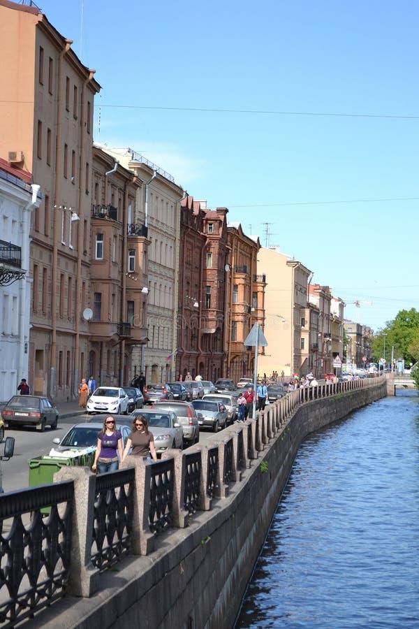 ποταμός Άγιος της Πετρούπολης καναλιών στοκ εικόνες με δικαίωμα ελεύθερης χρήσης