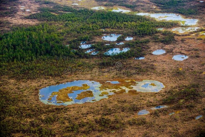 Ποταμός έντονα ελιγμού σε μια πράσινη κοιλάδα στοκ εικόνες