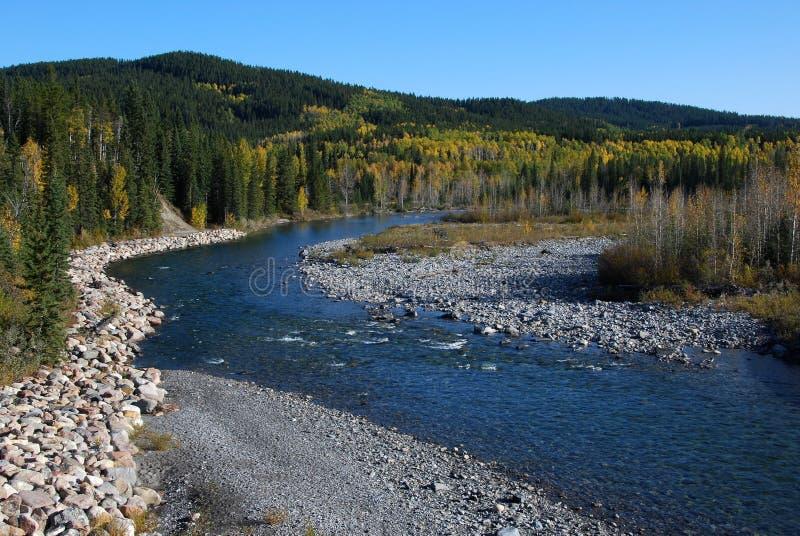 ποταμός αγκώνων στοκ εικόνες