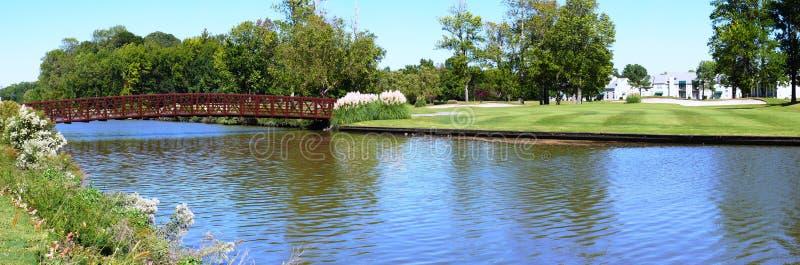 ποταμός γκολφ σειράς μα&theta στοκ εικόνα με δικαίωμα ελεύθερης χρήσης