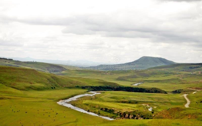 Ποταμός ελιγμού στοκ εικόνα με δικαίωμα ελεύθερης χρήσης