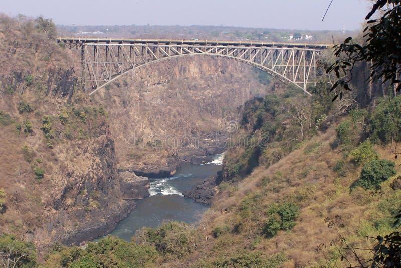 ποταμός Ζαμβέζης στοκ εικόνες