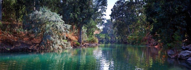 Ποταμός Ιορδάνης στοκ εικόνα