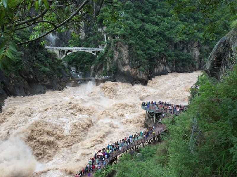 Ποταμός Κίνα Yangzi στοκ φωτογραφία με δικαίωμα ελεύθερης χρήσης