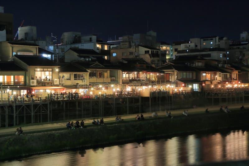 Ποταμός Κιότο Ιαπωνία Kamo στοκ εικόνες