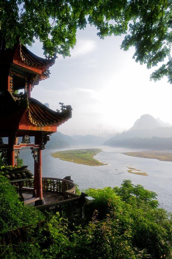 ποταμός λι της Κίνας στοκ εικόνες