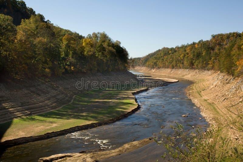 ποταμός ξηρασίας στοκ φωτογραφία με δικαίωμα ελεύθερης χρήσης