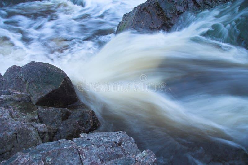 ποταμός ορμητικά σημείων ποταμού στοκ εικόνες με δικαίωμα ελεύθερης χρήσης
