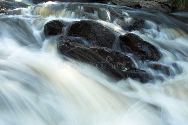 ποταμός ορμητικά σημείων ποταμού στοκ εικόνα με δικαίωμα ελεύθερης χρήσης