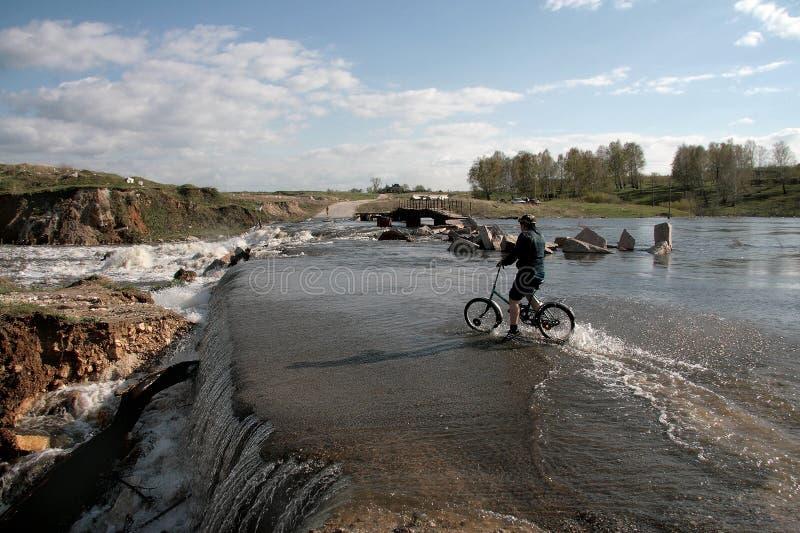 ποταμός πλημμυρών στοκ φωτογραφία