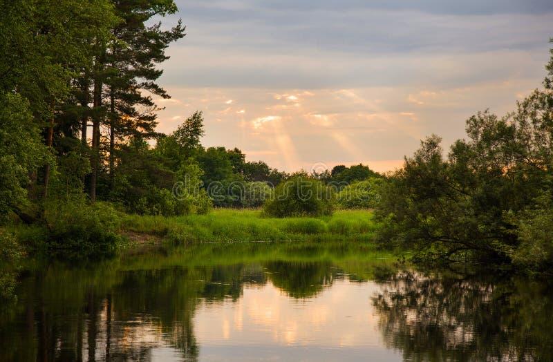 ποταμός Ρωσία στοκ φωτογραφία