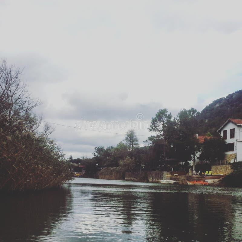 Ποταμός σιωπής στοκ φωτογραφία