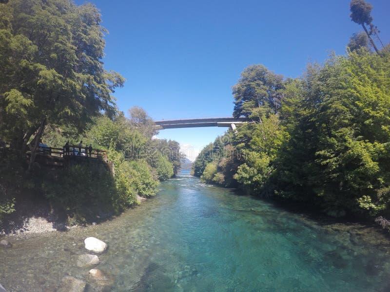 Ποταμός στην Αργεντινή στοκ εικόνες