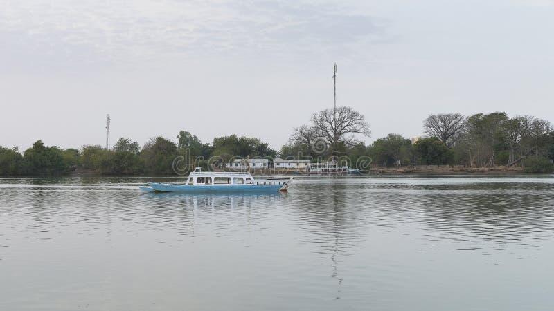 Ποταμός της Γκάμπιας στοκ φωτογραφία με δικαίωμα ελεύθερης χρήσης