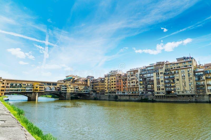 ποταμός της Φλωρεντίας arno στοκ εικόνες με δικαίωμα ελεύθερης χρήσης
