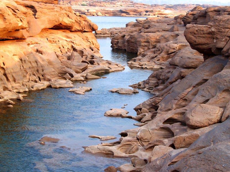 ποταμός τοπίων 01 λόφων στοκ εικόνα με δικαίωμα ελεύθερης χρήσης
