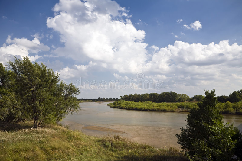ποταμός του Αρκάνσας στοκ φωτογραφία με δικαίωμα ελεύθερης χρήσης