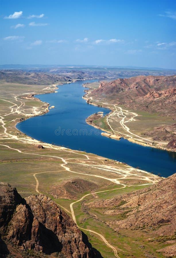 Download ποταμός του Καζακστάν ili στοκ εικόνα. εικόνα από ποταμός - 22797187