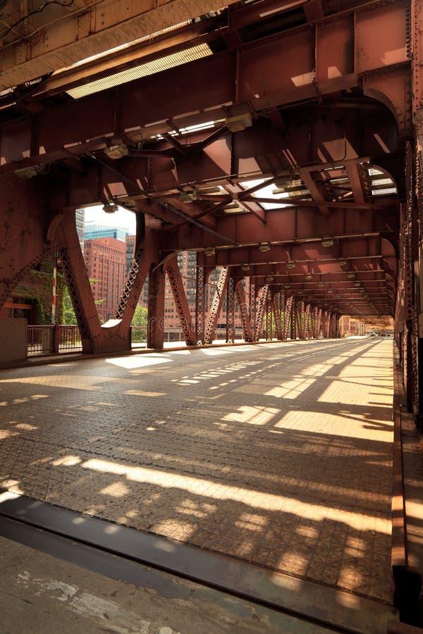 ποταμός του Σικάγου γε&phi στοκ φωτογραφία με δικαίωμα ελεύθερης χρήσης