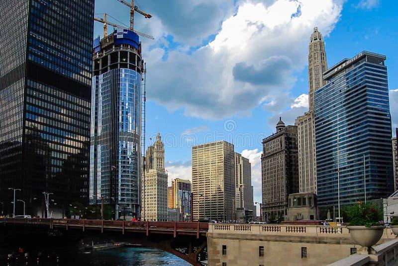 Download Ποταμός του Σικάγου στοκ εικόνες. εικόνα από κεντρικός - 62705814
