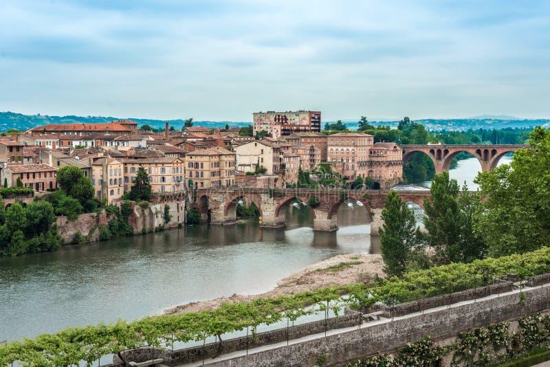 Ποταμός του Tarn στην Άλβη, Γαλλία στοκ φωτογραφία με δικαίωμα ελεύθερης χρήσης