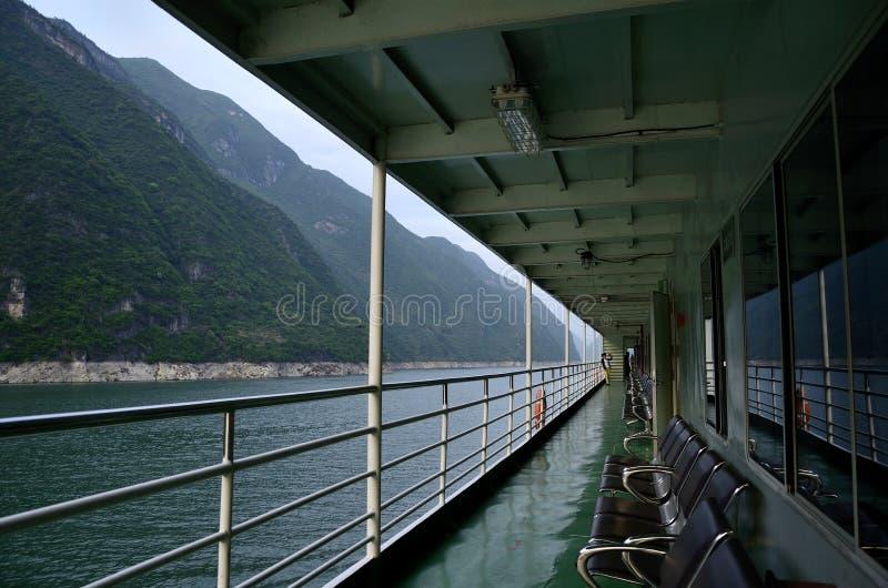 Ποταμός τρία της Κίνας Yangtze φυσική ουσία φαραγγιών στοκ φωτογραφίες