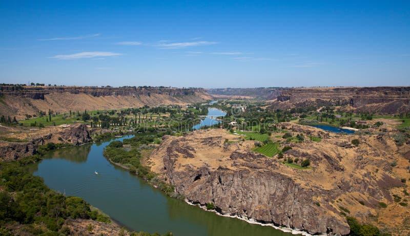 Ποταμός φιδιών στοκ εικόνα με δικαίωμα ελεύθερης χρήσης