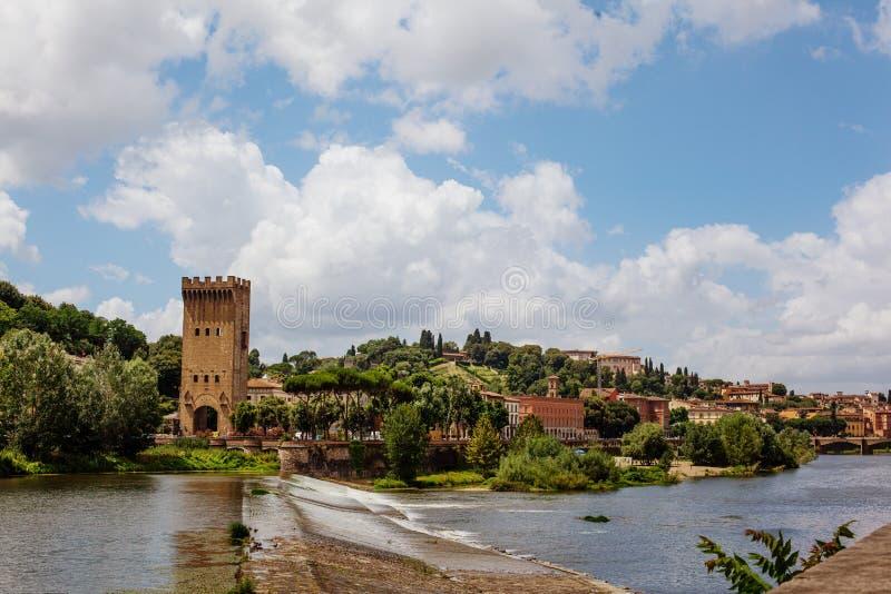 ποταμός arno στοκ φωτογραφίες με δικαίωμα ελεύθερης χρήσης