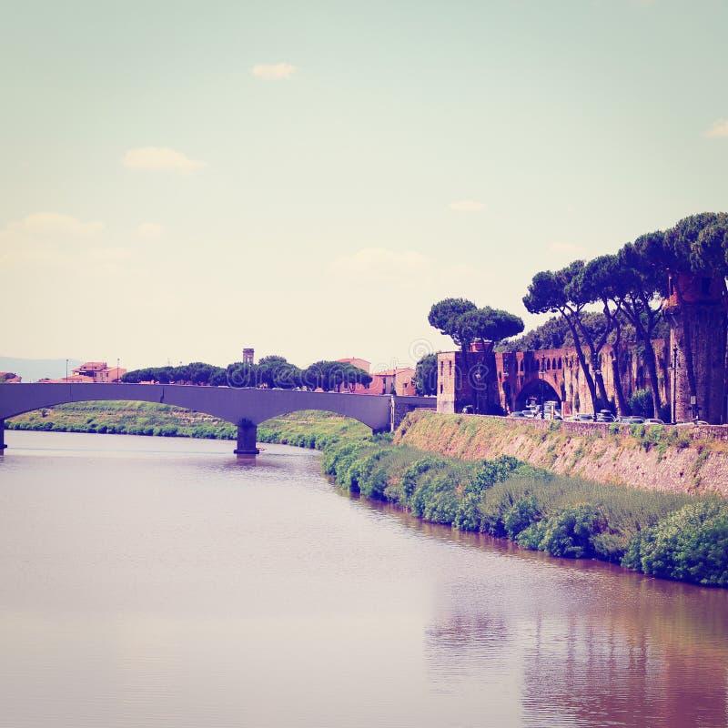 ποταμός arno στοκ εικόνες με δικαίωμα ελεύθερης χρήσης