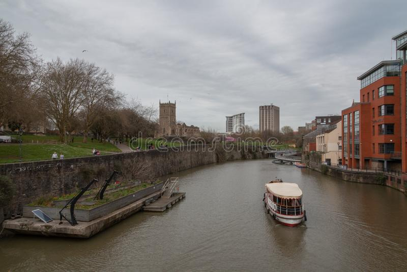 Ποταμός Avon στο πάρκο του Μπρίστολ στοκ φωτογραφίες με δικαίωμα ελεύθερης χρήσης