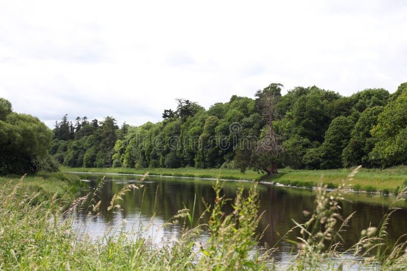 Ποταμός Boyne, τοπίο κοντά σε Navan στοκ φωτογραφίες με δικαίωμα ελεύθερης χρήσης