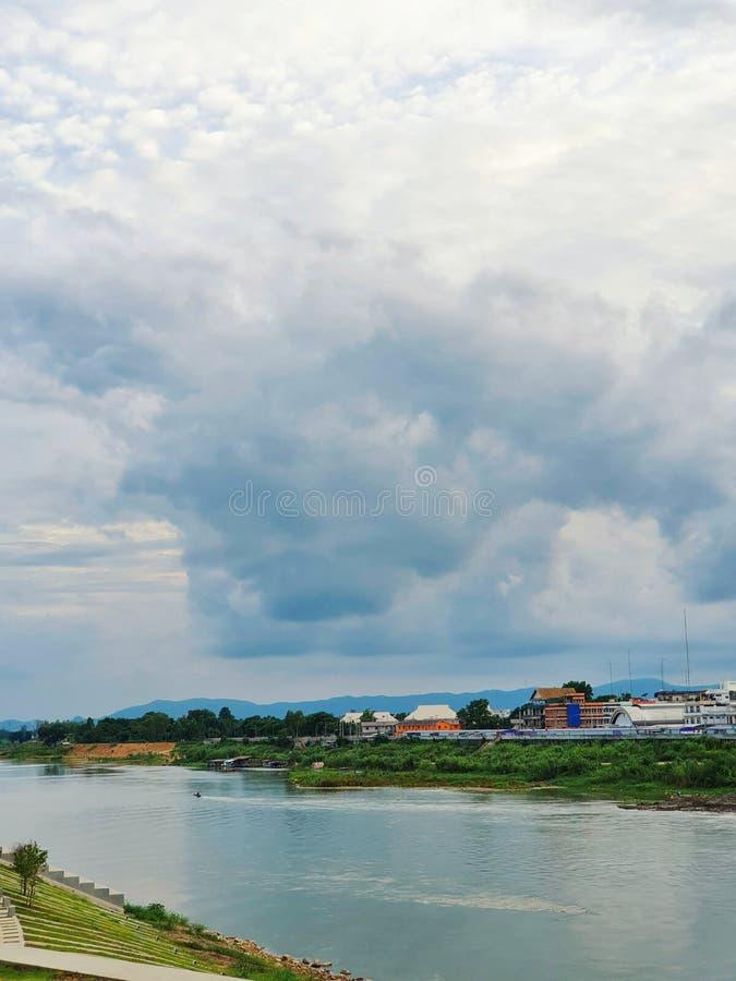 ποταμός Chao Expression, Nakhonsawan, Ταϊλάνδη στοκ φωτογραφία με δικαίωμα ελεύθερης χρήσης