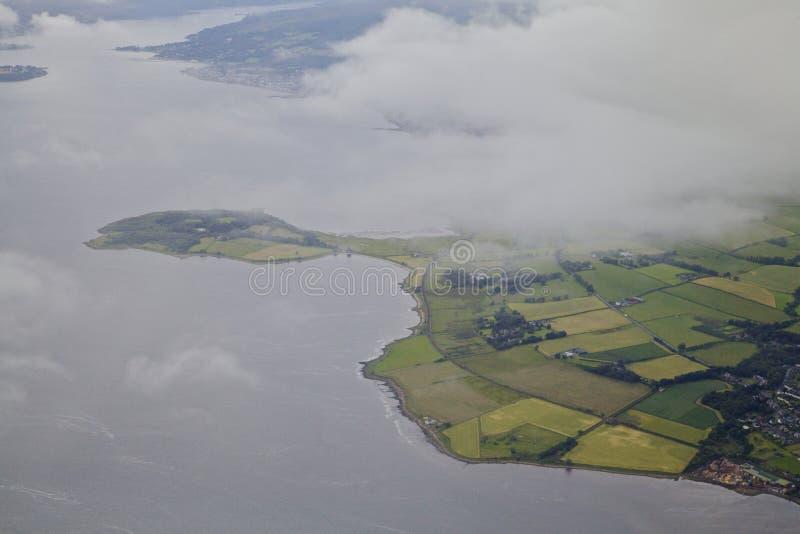 Ποταμός Clyde δυτικά της Γλασκώβης στοκ εικόνες με δικαίωμα ελεύθερης χρήσης