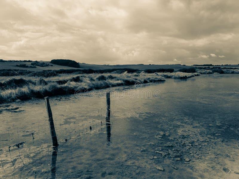 Ποταμός Cuckmere στοκ εικόνες