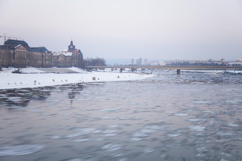 Ποταμός Elbe στοκ εικόνες με δικαίωμα ελεύθερης χρήσης