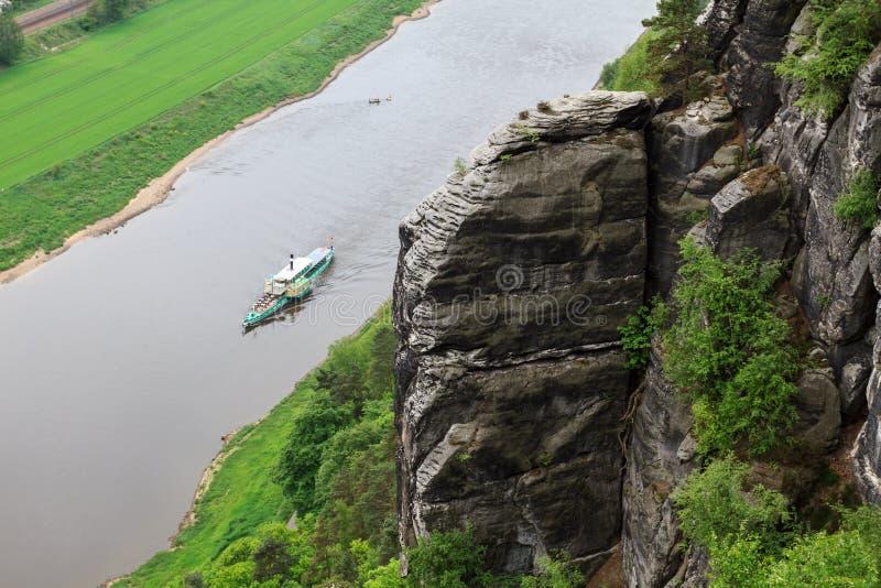 Ποταμός Elbe στοκ εικόνα