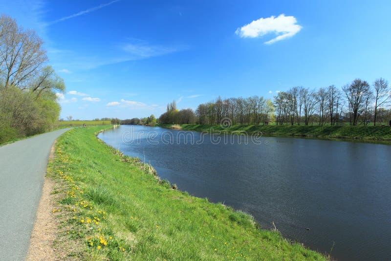 ποταμός Elbe στοκ φωτογραφία
