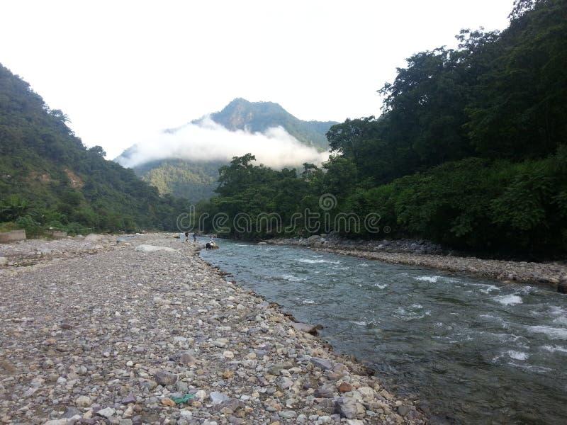 Ποταμός Ganga, Rishikesh στοκ φωτογραφίες