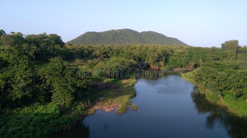 Ποταμός & x28  hiran & x29  στοκ εικόνες
