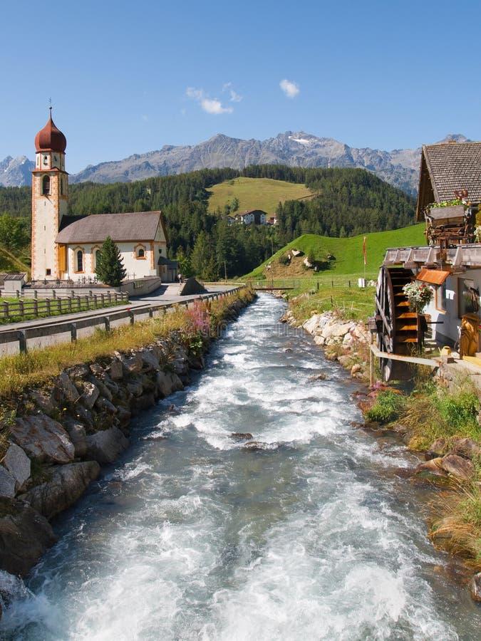 Ποταμός Horlachbach σε Niederthai στοκ εικόνες