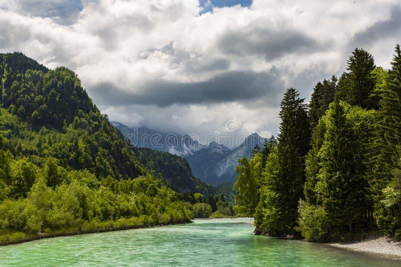 Ποταμός Lech στοκ φωτογραφία με δικαίωμα ελεύθερης χρήσης