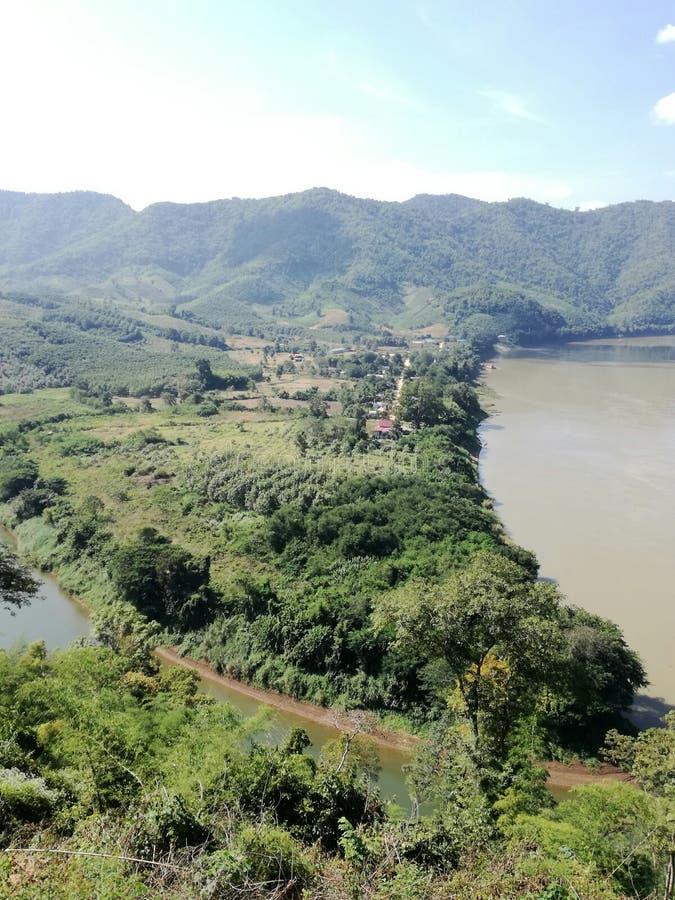 Ποταμός Maekong στοκ εικόνες