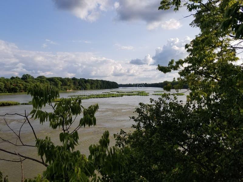 Ποταμός Maumee στοκ φωτογραφία